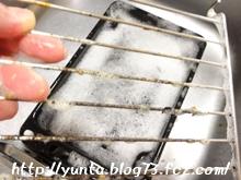 東邦ウタマロクリーナー 魚焼き用のアミに使用前☆