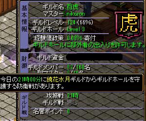 10.31百虎~守り