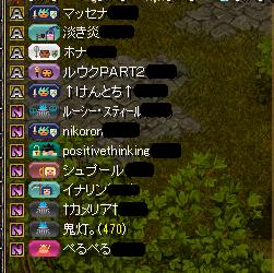 百物語組参加メンバー(11.7
