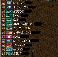 百物語組参加メンバー(11.14