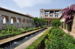 アルハンブラ宮殿ーフェネラリーフェの噴水