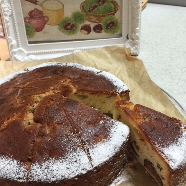 平成27年10月28日栗のケーキ