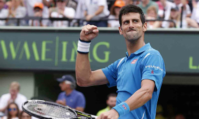 Novak won Miami Open 400