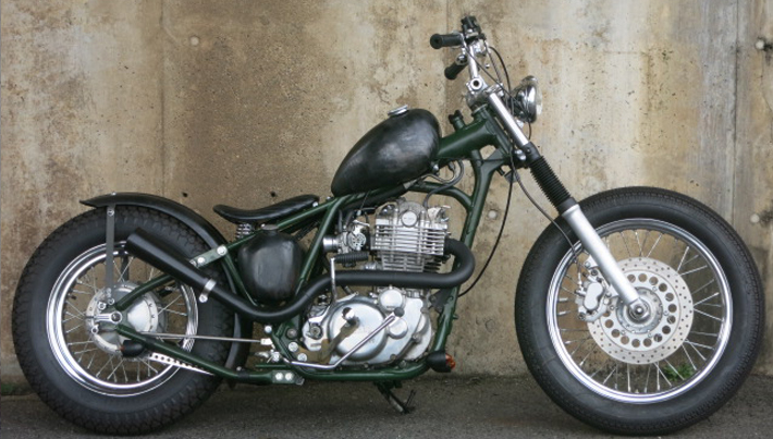 HARD TAIL BOBBER