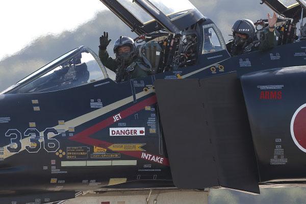 黒いファントム F-4 岐阜基地