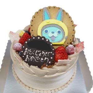 うさぴょんのキャラデコケーキ
