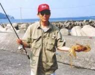 山梨のイカ釣り師