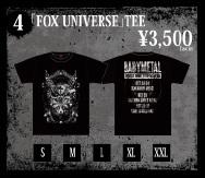 fox universe tee