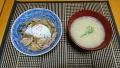 鶏の柳川丼 20180227