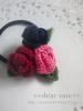 ちいさなお花のヘアアクセサリー