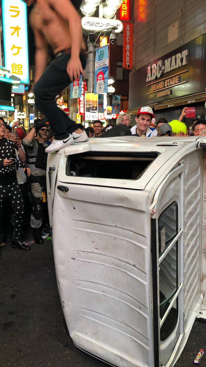 【渋谷ハロウィン暴徒化】トラック破壊、痴漢や盗撮【動画あり】の画像6-1