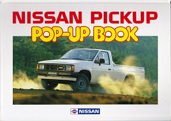 NISSAN PICKUP POP-UP BOOK