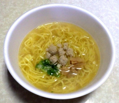3/7発売 マルちゃん 正麺 カップ 旨みだし塩(できあがり)