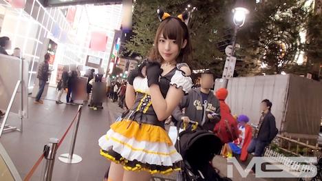 【ナンパTV】ハロウィンナンパ 04 in 渋谷 チームN さき 21歳 釣具専門店店員 2