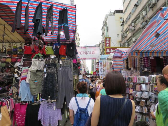 香港 女人街 買い物 観光