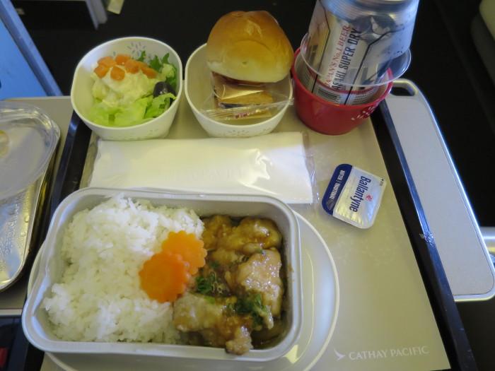 CX503 機内食
