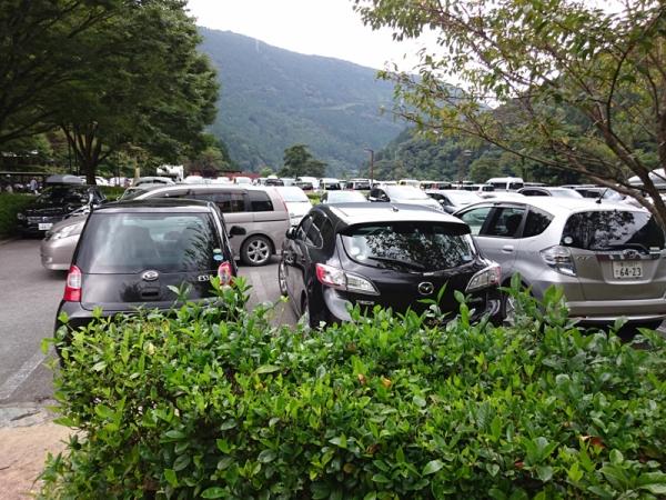 マイントピア別子駐車場