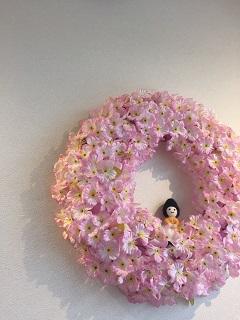 カフェ デ オラ 桜リース