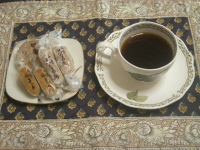 本日のコーヒー&おやつ#8