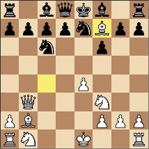 10/22のゲーム1戦目。8手で勝利。消費時間43秒