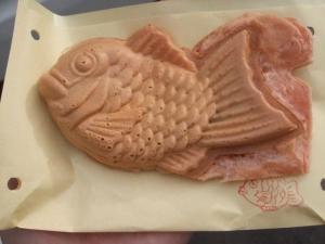 奥沢の「鯛焼開運庵」のたい焼き