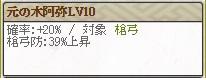 Lv10 筒井