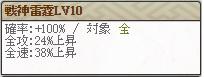 天 覇信玄Lv10