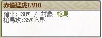 赤備猛虎Lv10