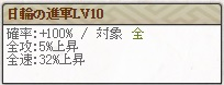 日輪の進軍Lv10