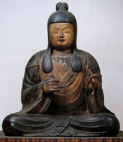 東寺・八幡三神像~女神像