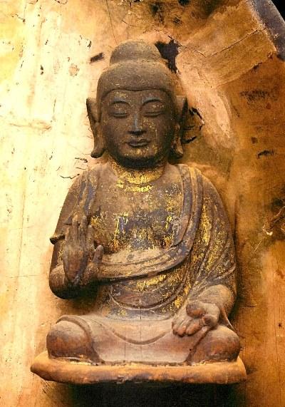 黒石寺薬師如来像・化仏~奈良様の造形