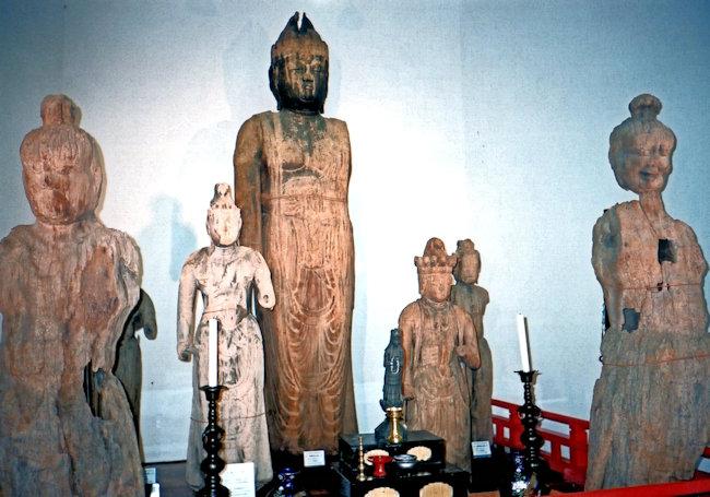 東楽寺の諸像
