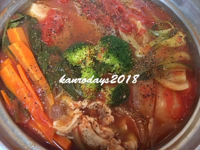 20181021_トマト鍋