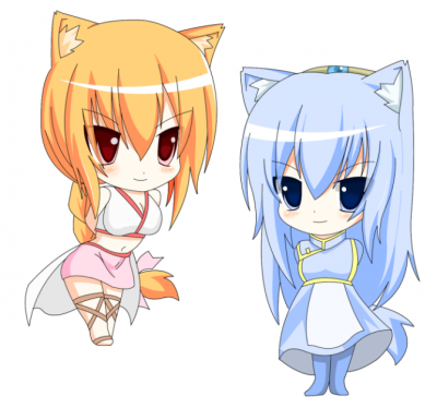 猫カレン&猫エレン