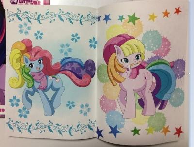 新刊「My little Pony Days」ページ一部
