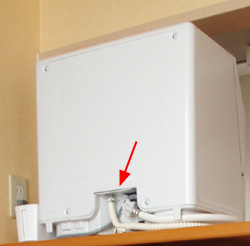食洗機の目隠し