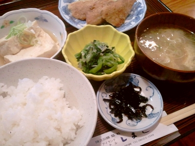 the 家庭料理!