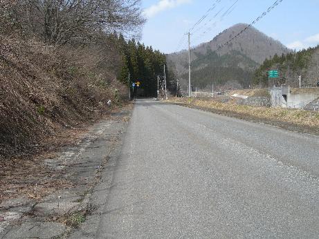 13号線 旧道
