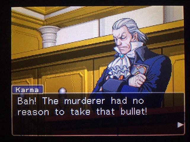 逆転裁判 北米版 真犯人が弾丸を持ち去った理由とは7