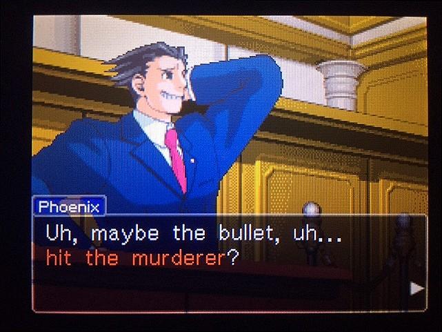 逆転裁判 北米版 真犯人が弾丸を持ち去った理由とは20