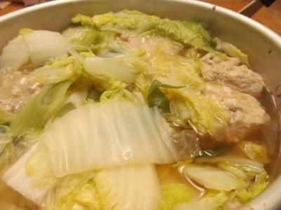 イカ団子と白菜の煮込み鍋3