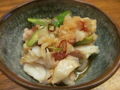 アカイサキの生姜ソース2