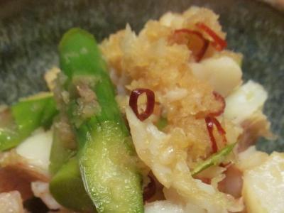 アカイサキの生姜ソースアップ3