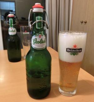 オランダビールで乾杯