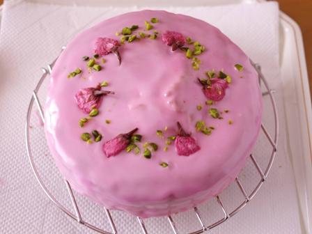 桜のお花見ケーキ08