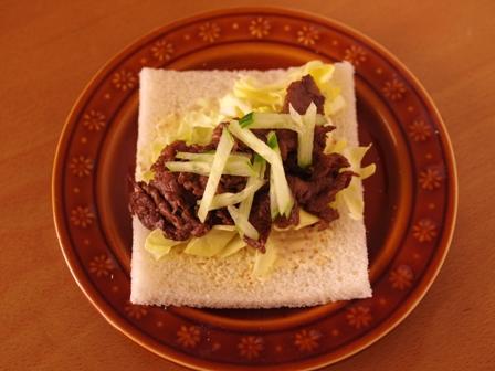 サンドシナイッチ01焼肉春キャベツa