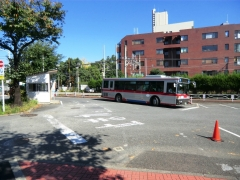 多摩川駅バス乗り場
