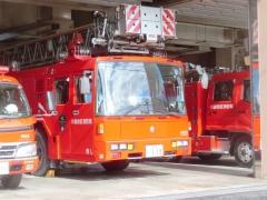 川越地区消防局はしご車