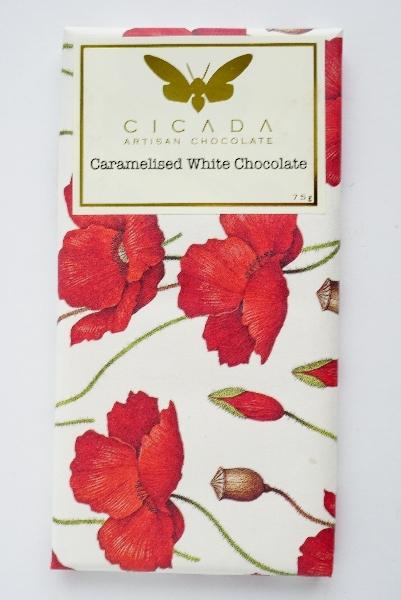 【CICADA】カラメルホワイトチョコレート