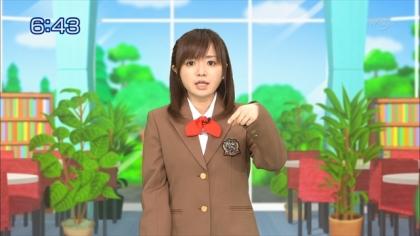 160316 合格モーニング 紺野あさ美 (1)